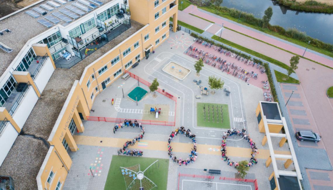 200e leerling op de Ichthusschool!